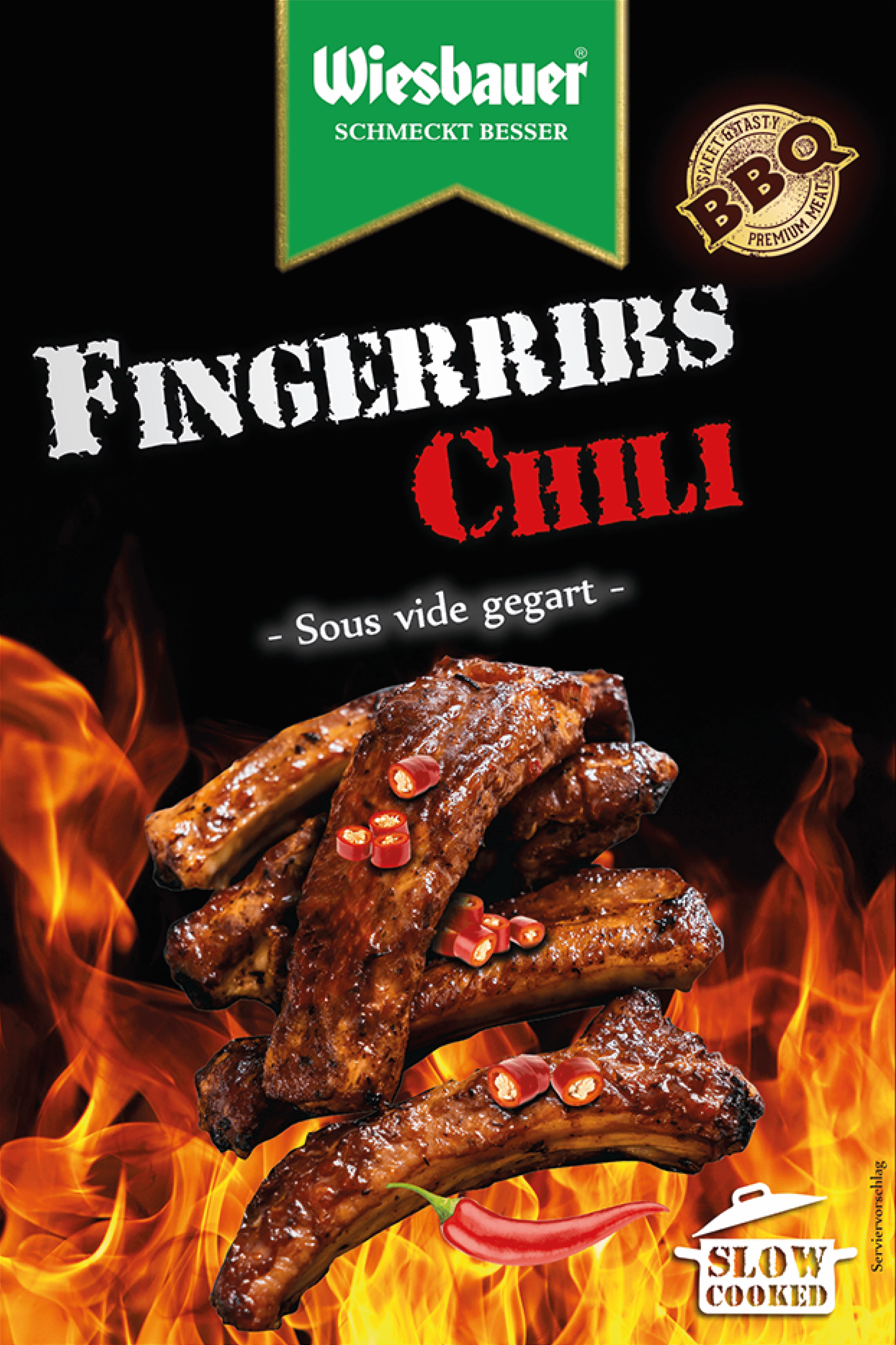 BBQ Fingerribs Chili