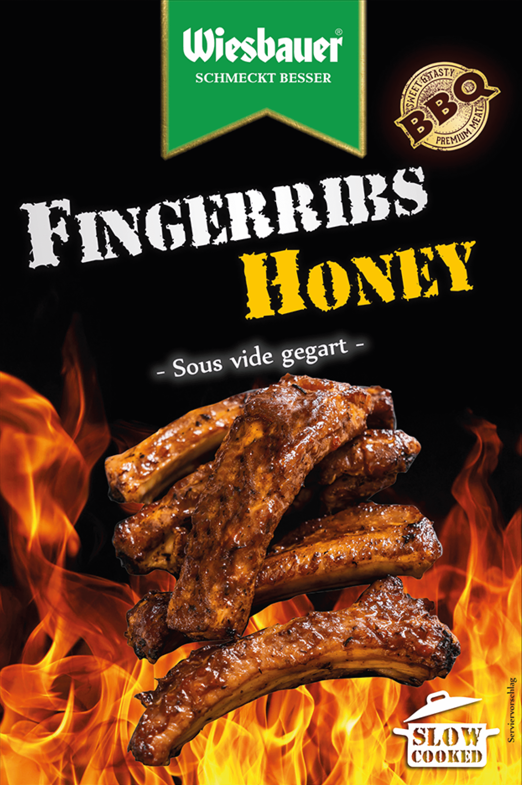 BBQ Fingerribs Honey