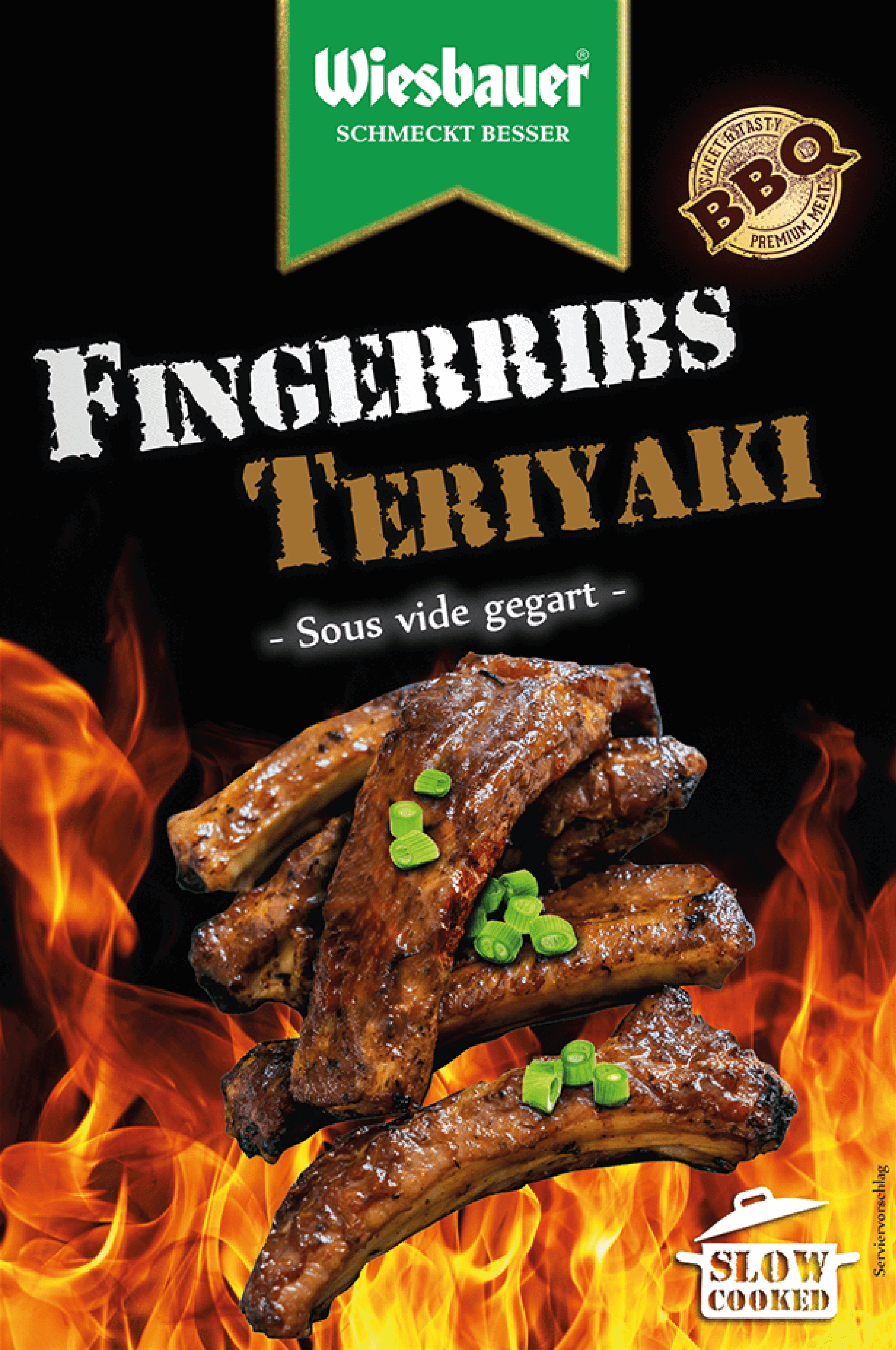 BBQ Fingerribs Teriyaki