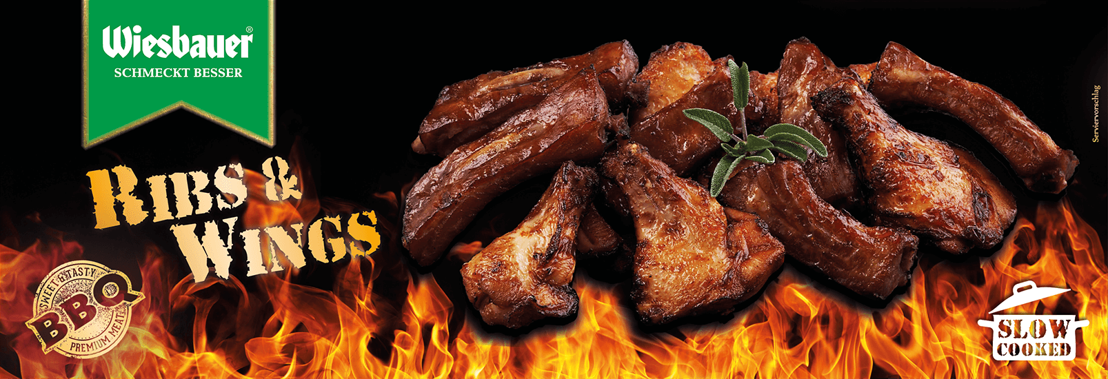 BBQ Ribs & Wings